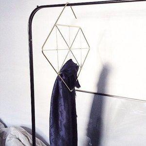 Umbra Geometry Pendant Scarfs Hanger